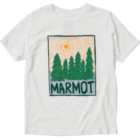 Marmot Purview T-shirt Garçon, white
